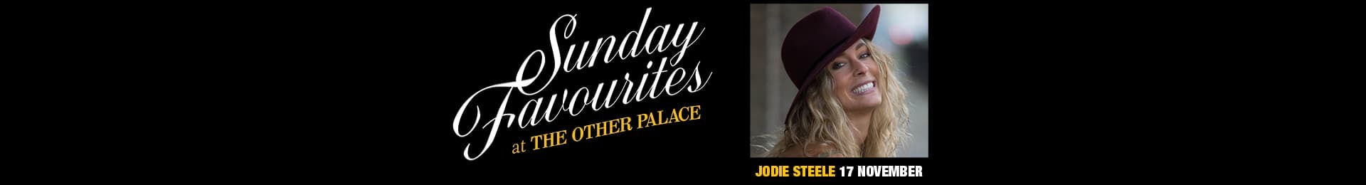 Sunday Favourites: Jodie Steele banner image