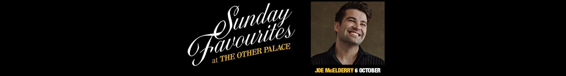 Sunday Favourites: Joe McElderry banner image