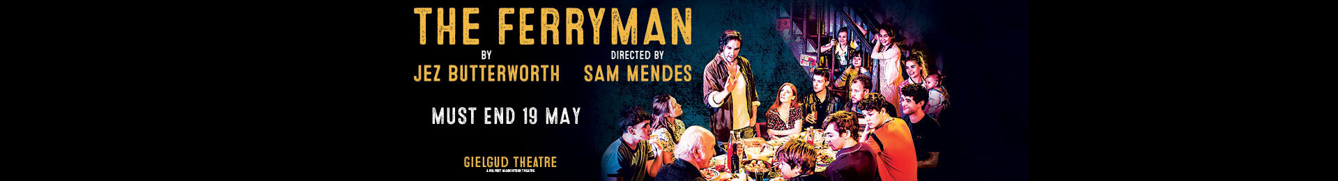 The Ferryman & Dinner at Planet Hollywood banner image