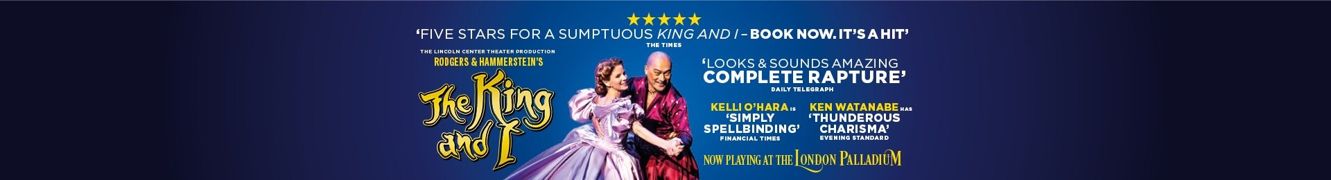 The King and I and complimentary meal with Prosecco at Busaba banner image
