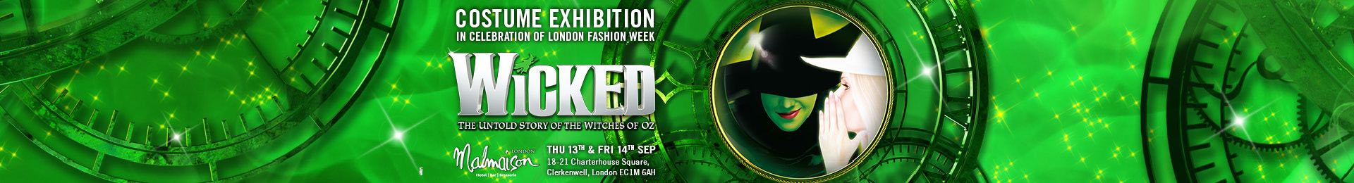 The Most Wicked Fashion Exhibition in London banner image