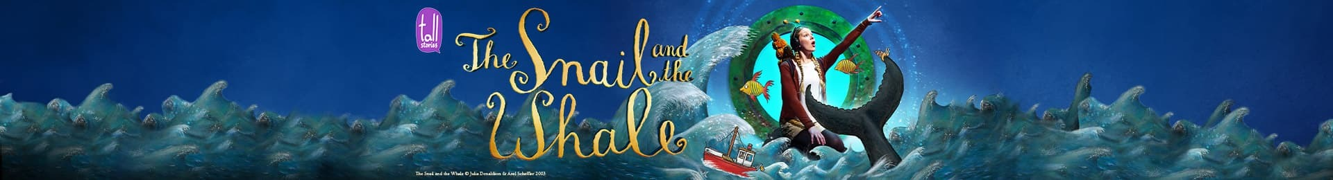 The Snail and the Whale banner image