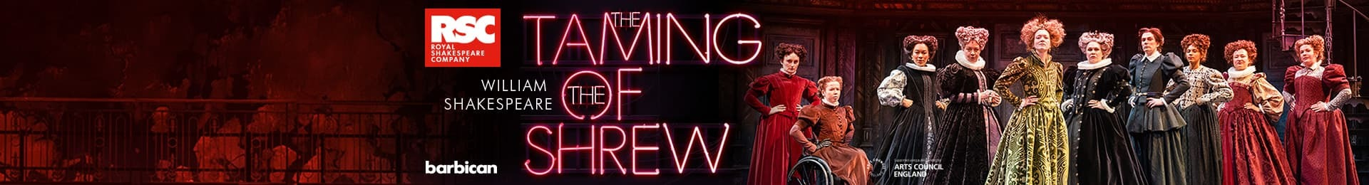 The Taming of the Shrew banner image