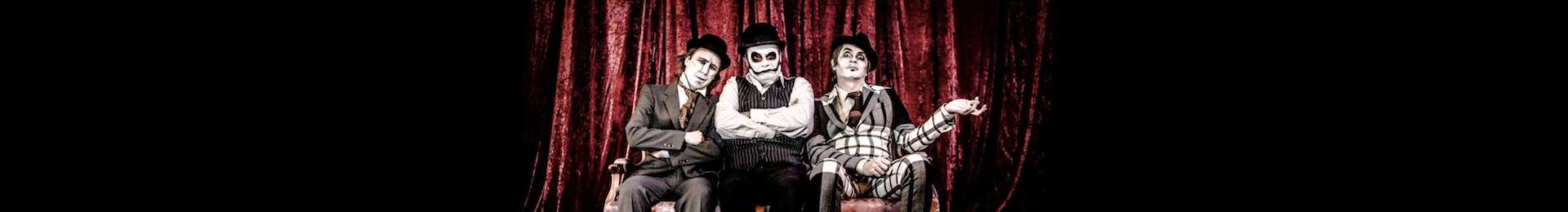 The Tiger Lillies: Edgar Allan Poe's Haunted Palace banner image
