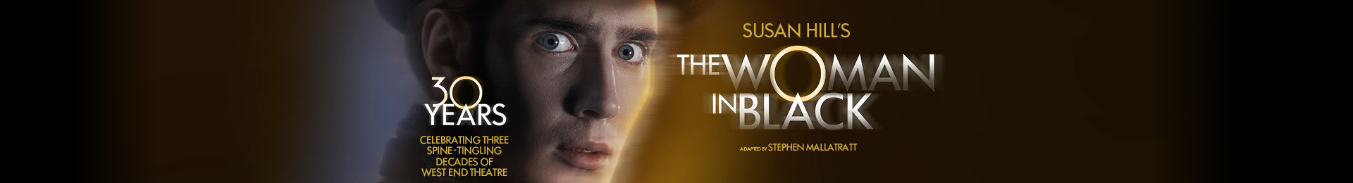 The Woman in Black & Dinner at PizzaExpress - Bow Street banner image