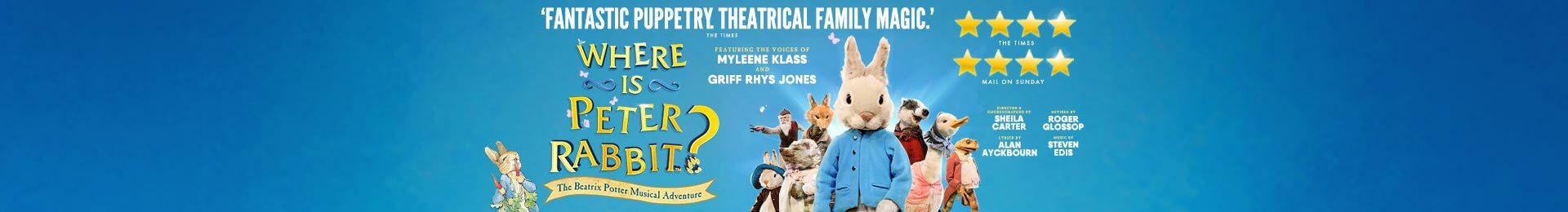 Where is Peter Rabbit? banner image