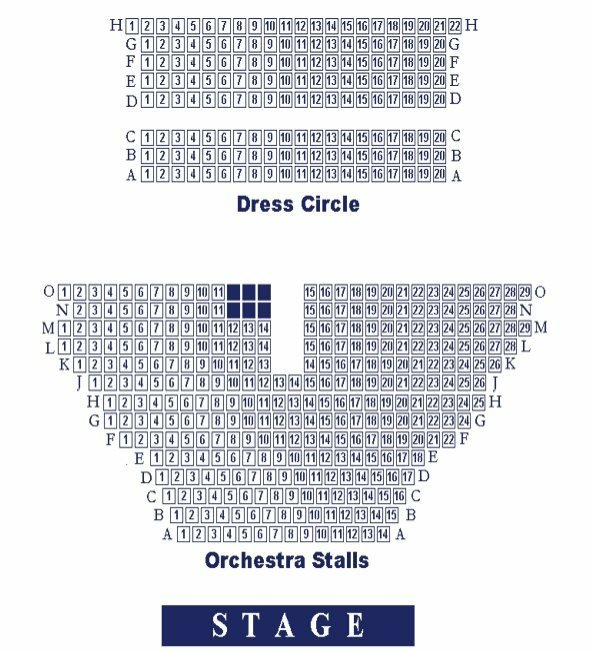 Duchess Theatre seating plan